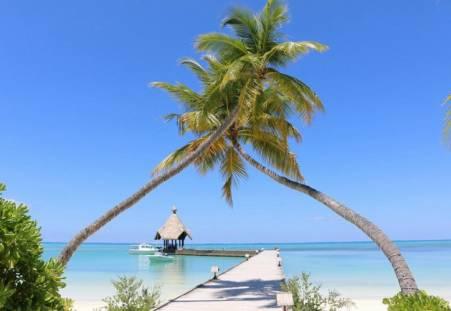 Фото пляжа Пляж острова Хератера