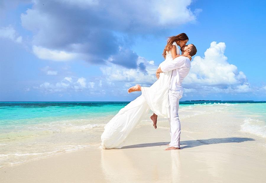 Свадебная церемония на Мальдивах!